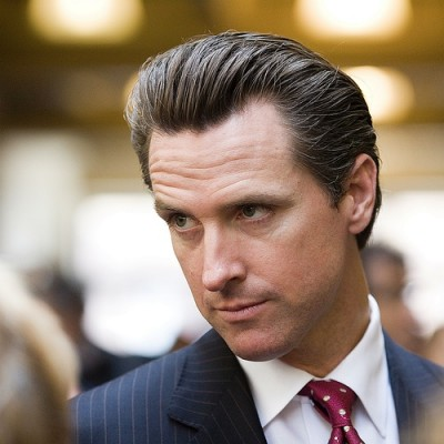 evil gavin newsom california