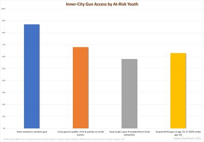 Gun access by at-risk inner city youths in New York